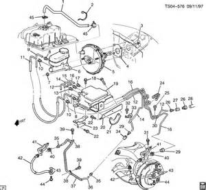 Brake Line Diagram 1999 Chevy S10 Brake Lines Front