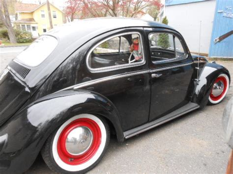 volkswagen bug black 1959 volkswagen beetle sedan vw bug punch buggy black
