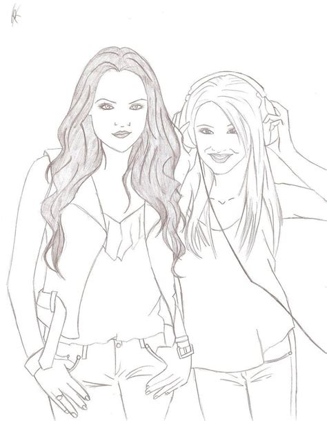 victorious cast coloring pages coloring home