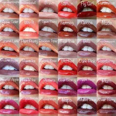 lipsense lip color all 36 lipsense colors besosby vero