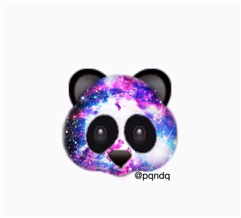 wallpaper galaxy emoji photo collection panda emoji galaxy wallpaper