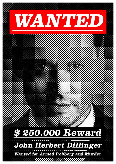 biography of film wanted modern wanted poster on behance