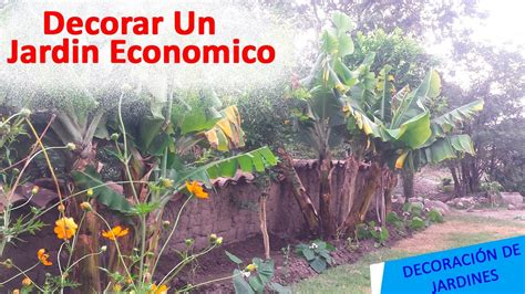 videos de como decorar el jardin como decorar un jardin de forma economica youtube