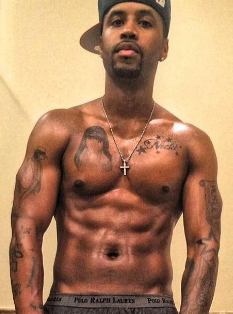 safaree tattoo nicki minaj s ex boyfriend safaree samuels also had