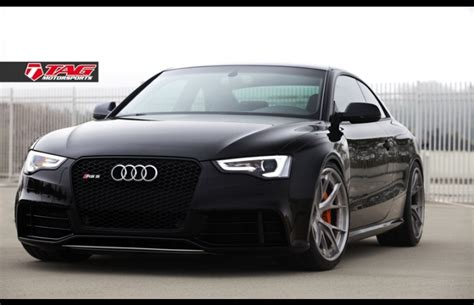 Audi Rs5 Grill by Front Of Black S5 With Black Optics Grill