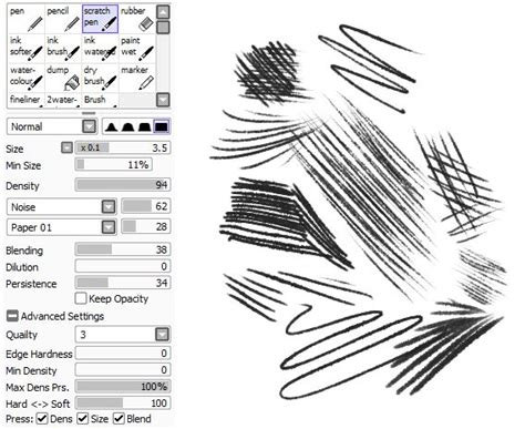 paint tool sai pen 80 best brushes paint tool sai images on