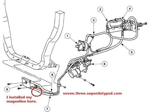 electric power steering 1999 ford f250 regenerative braking 2003 ford f250 power steering line diagram share the knownledge