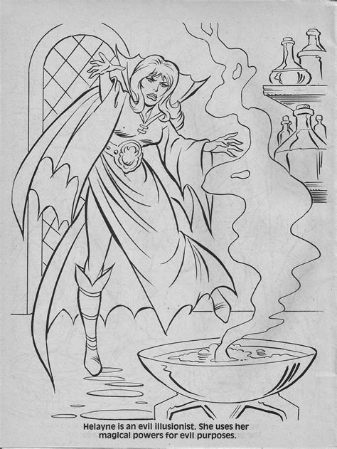 dungeons and dragons coloring book advanced dungeons dragons characters coloring book 1983
