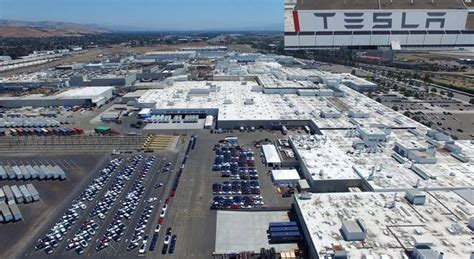 tesla fremont california tesla s factory in california in glorious 4k