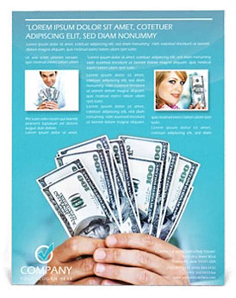 Money Flyer Template Design Id 0000000345 Smiletemplates Com Sales Competition Template