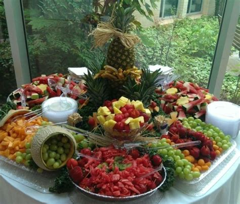 here s my first fruit display for a wedding this was sooo