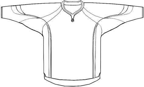 Hockey Blog In Canada Carolina Misses The Mark Hockey Jersey Template