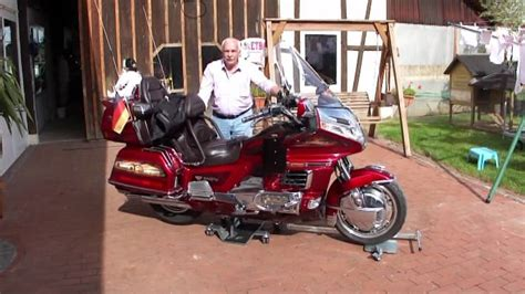 Rangierhilfe Motorrad Youtube by Rangier As Xl Mit Frontarm1 Honda Gold Wing Youtube