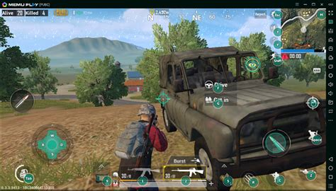 pubg emulator play pubg mobile on pc with smart f key memu android