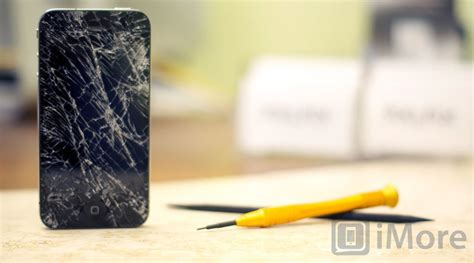 replace  cracked screen   iphone  imore