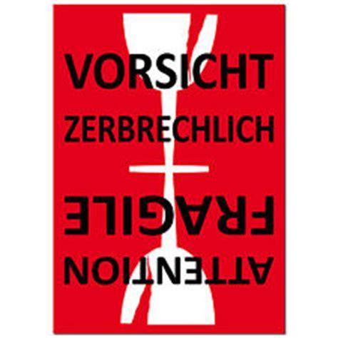 Dhl Versand Etiketten Drucken by Aufkleber Zerbrechlich Jetzt Auf Vorrat Bei Ebay