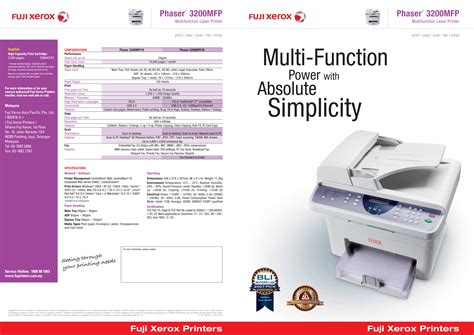 Printer Xerox Phaser 3200mfp free pdf for xerox phaser 3200mfp multifunction printer manual