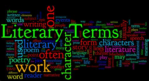 ms b s class is literary terms