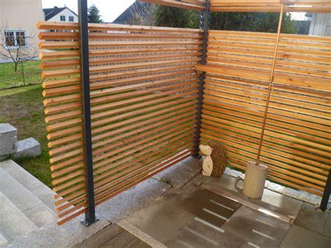 Balkon Dusche by Sichtschutz Um Dusche Lignum Linearis