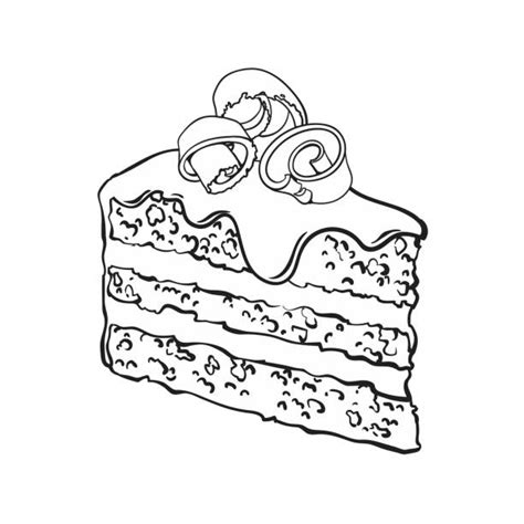 royalty free black forest cake clip art vector images
