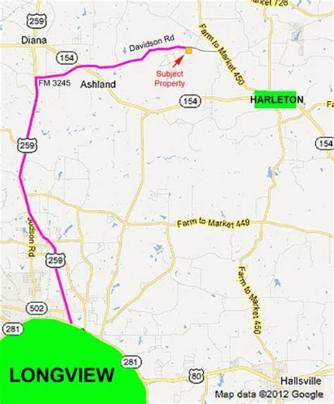 map of harrison county texas 5 9 acres in harrison county texas