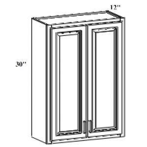 wes542 shakertown wall end shelf wall cabinets shakertown w2430 wall cabinet 30 quot h x 24 quot w craftsmen