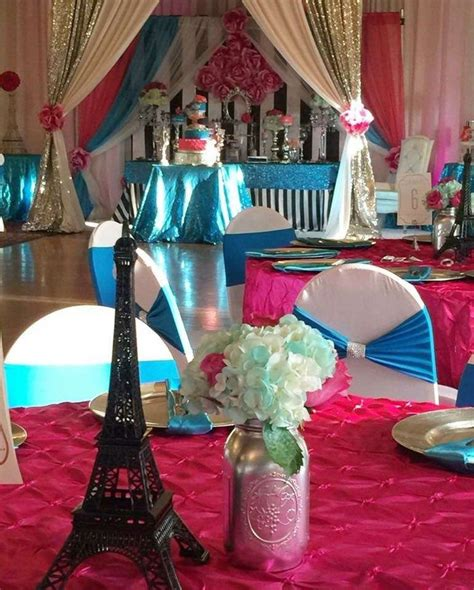 paris themed quinceanera ideas 503 best images about french parisian party ideas on