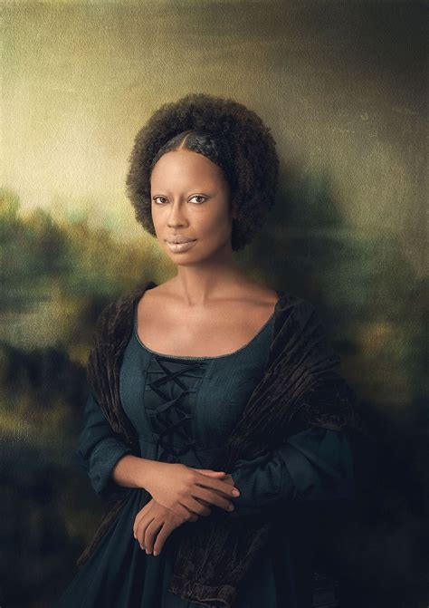 Monalisa Black photographer reimagines characters as black
