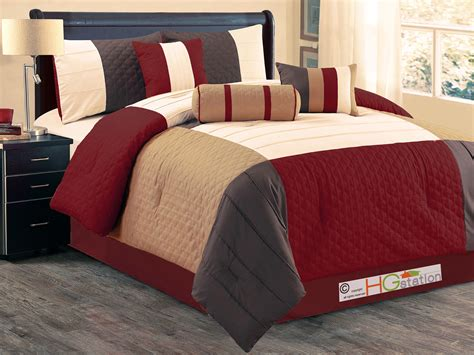 quatrefoil comforter set 7 p patchwork quatrefoil trellis pleated comforter set