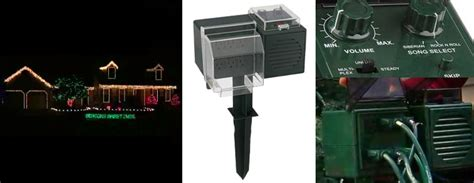 the music box music light synchronization controller amazing synchronized light sound device outdoors the green