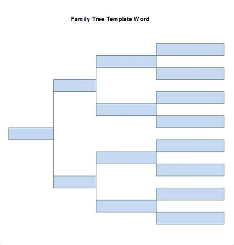 family tree template in word family tree template docs best business template