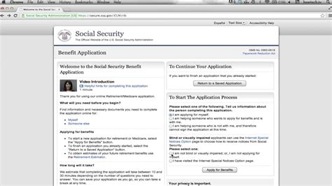 How To Apply For Social Security Retirement