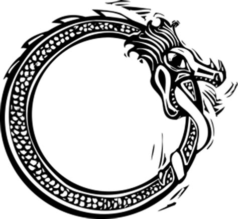 image result for norse sea serpent norse symbols the circle of j 246 rmungandr the power of the ouroboros