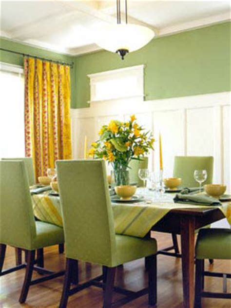Green Dining Room Wall Interior Green Color Painting Ideas For Painting Walls