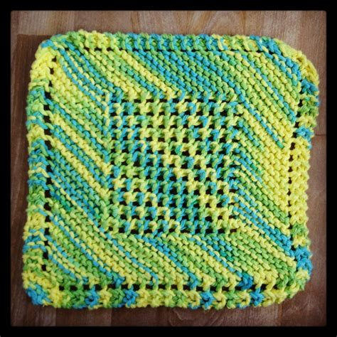 diagonal knit dishcloth pattern 1000 images about knit dishcloths on