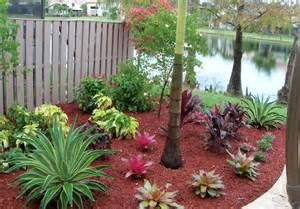 Backyard Barbecue Adding Life To Your Outdoor Home With Colored Mulch