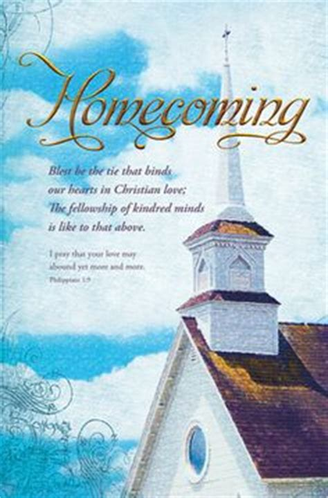 Church Homecoming Clipart 101 Clip Art Church Homecoming Program Template