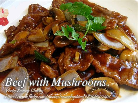 printable pinoy recipes beef with mushrooms panlasang pinoy meat recipes
