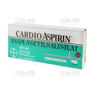 Obat Cardio Aspirin 100 Mg jual beli cardio aspirin 100mg tab k24klik