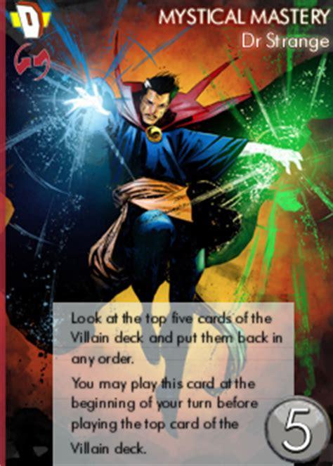 marvel legendary card template marvel legendary deck building