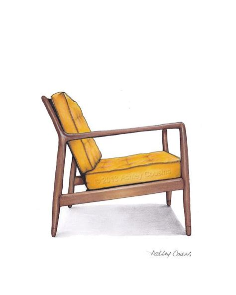 mid century chair plans modern furniture plans woodworking projects plans