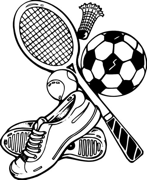 Coloring Pages Of Sports sports coloring pages coloring ville