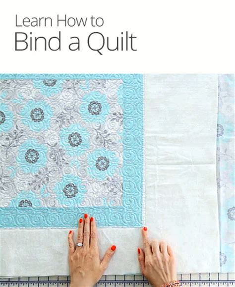 How To Put Binding On Quilt by How To Bind A Quilt Curious
