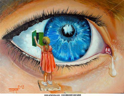 pintura surrealista afrikacoutin s blog el blog de elvira colqui rojas mis ojos surrealistas