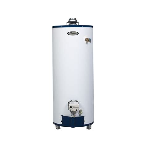 Waterhetaer Gas shop whirlpool 40 gallon 6 year gas water heater at lowes
