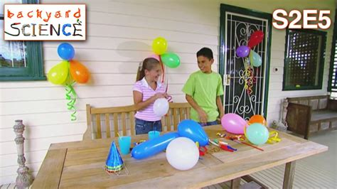backyard science youtube backyard science s2e5 spinning dizzy balloons youtube