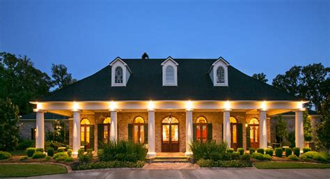 Plantation Home Blueprints by Southern Trace Retreat Traditional Exterior Other