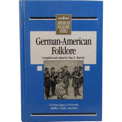 folklore picture books german american folklore book edition from