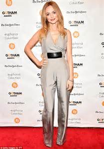 Slinky Silver For Autumn Nights Out by Johansson At Gotham Awards With Dauriac