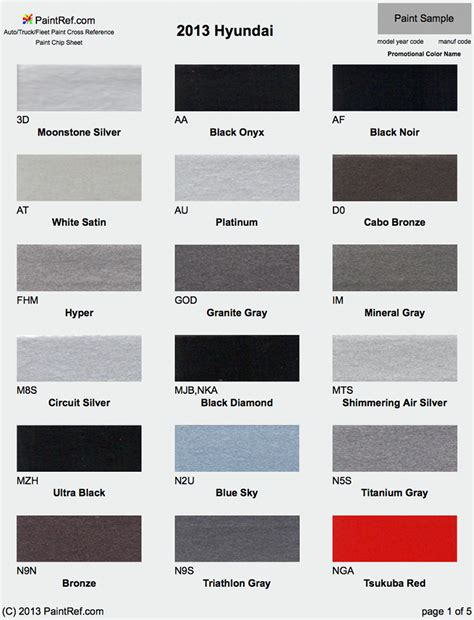 paint colors for hyundai pictures inspirational pictures